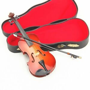 1-6-Scale-Violin-with-Case-Hot-Musical-Instrument-for-12-034-Action-figure-Toys