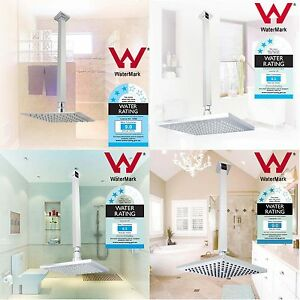 Rainfall-Thin-Stainless-Steel-LED-ABS-Shower-Head-Set-with-400mm-Ceiling-Arm-8-039-039