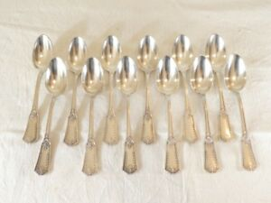 12-petites-cuilleres-en-metal-argente-de-style-LOUIS-XVI