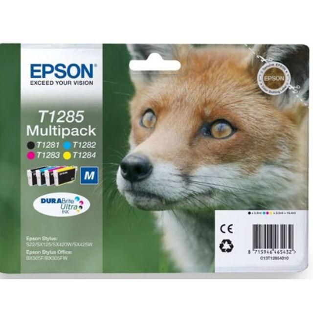 Epson Genuine SX425W SX430W SX435W Ink Cartridges Multipack