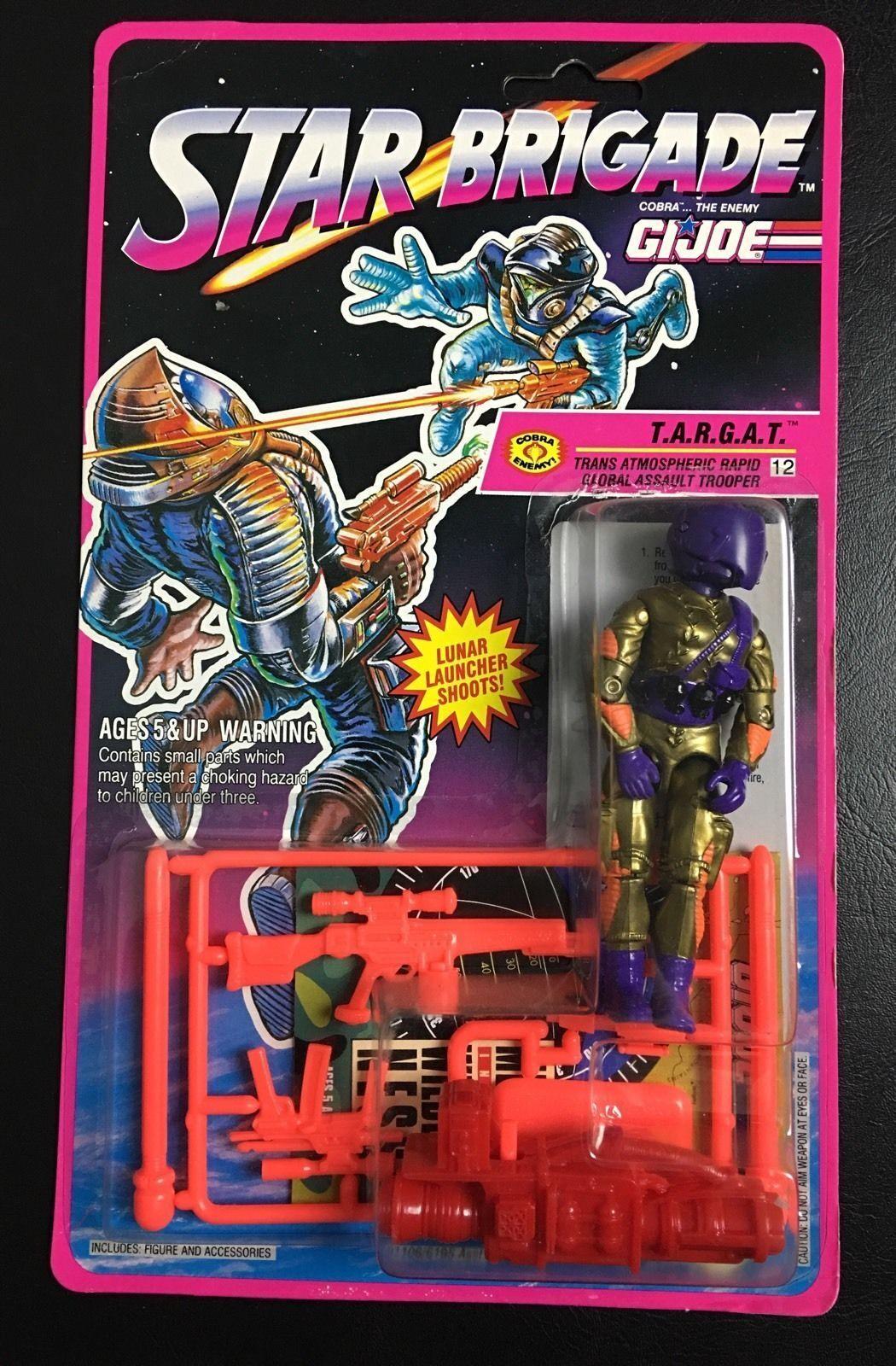 GI Joe Star Brigade1993 Cobra T.A.R.G.A.T. MOC 3.75  MOC