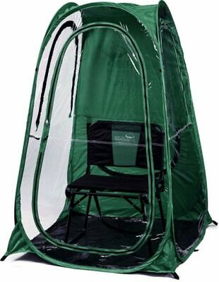 Under The Weather L Pod Sports Instant Easy Pop up Tent Wide & Clear View Green | eBay