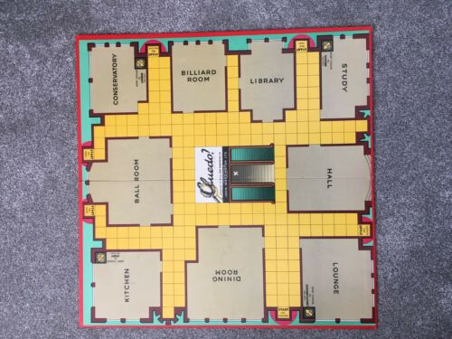 Cluedo Spare Replacement Pieces Weapons Cards Waddingtons 1972 Choose FREE P/&P