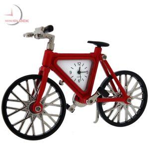 MOUNTAIN-BIKE-BICYCLE-MINIATURE-CLOCK-COLLECTIBLE-GIFT