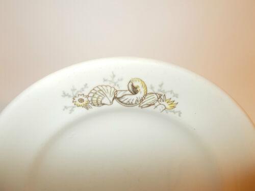 4 x North Staffordshire Pottery Vitrock Orient Line Side Tea Cake Plates Lovely