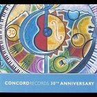 Concord Records 30th Anniversary [Box] by Various Artists (CD, Aug-2003, 6 Discs, Concord Jazz)