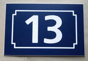 Numero De Rue Personnalisée Plaque 150 X 100 Gravée Gyppn6f7-07225016-551865469