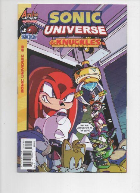 SONIC UNIVERSE #89 Variant 2016