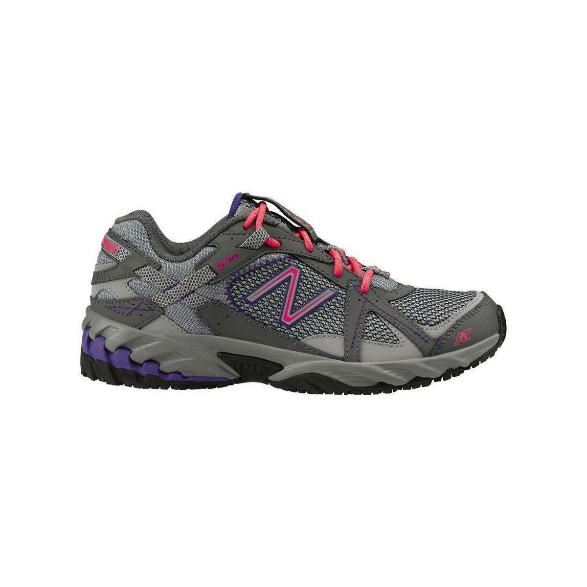 New Balance 570 SUREGRIP  Work Womens Grey/purple/Pink  Sneakers SZ 5.5 B