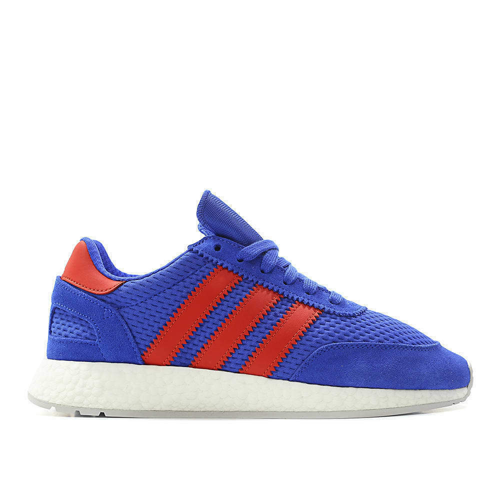 Adidas Originals I-5923 Iniki Boost Blue Red Men Sneakers Shoes New Gym D96605