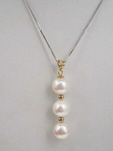 AAA-round-8-9mm-south-sea-natural-White-pearl-pendant-necklace-14k-Gold