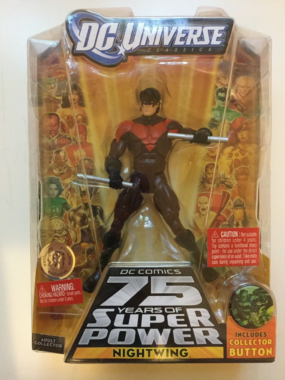 DC Universe Classics All Star Nightwing Toys R Us Exclusive
