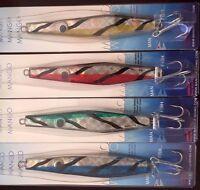 On Sale Lot Of 4 Jigging 7 Oz Spoons Vertical Saltwater Fishing Jigs Butterfly
