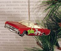 Trix '64 Lincoln Continental Convertible 1964 Orange Christmas Ornament Xmas