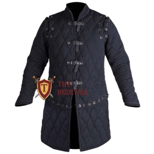 Halloween Gift  Medieval Jacket Thick Padded Gambeson Aketon COSTUMES DRESS SCA