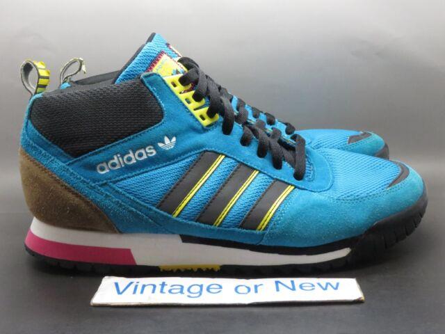new photos best cheap latest fashion Men's Adidas Originals ZX TR Mid Turquoise Yellow Black Trail G66275 sz 11