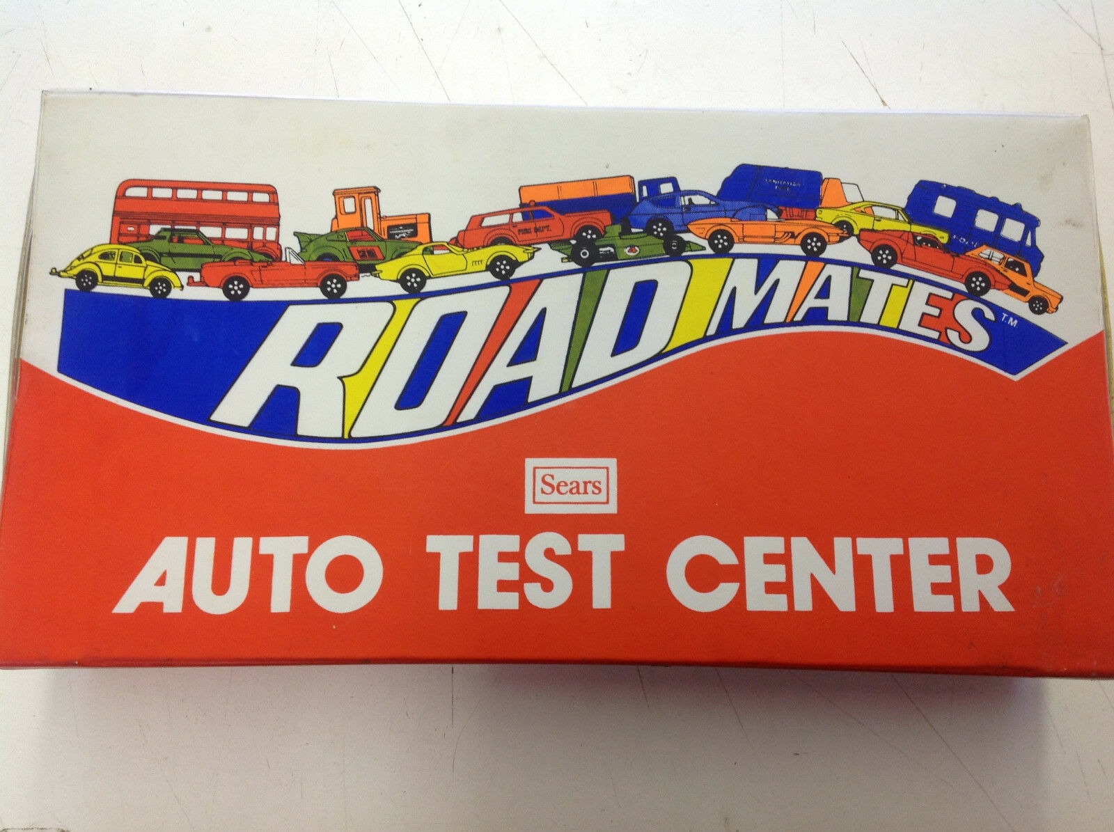 Vintage 70's Sears Road Mates Auto Test Center Center Center  incompleto  ver Fotos  9d8346
