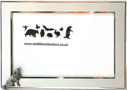 Wolf Howling Design Photo Picture Frame Wildlife Gift Landscape