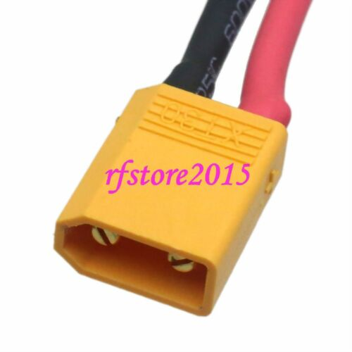 XT30 XT-30 to JST Adapter 20AWG 10CM cable for FPV Quad Turnigy Drone