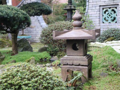 Steinfigur Steinlaterne Pagode Gartenlicht Naturstein s99