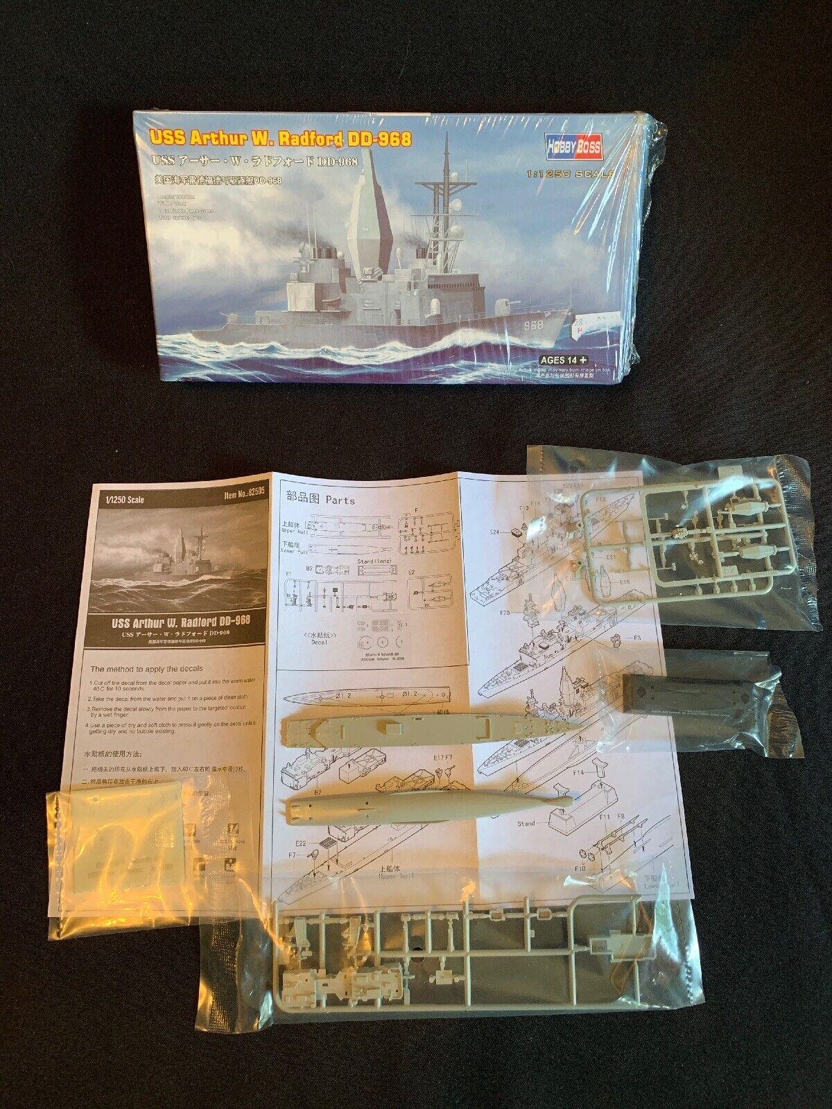 Hobbyboss 82505-1:1250 USS Arthur W Neu Radford DD-968