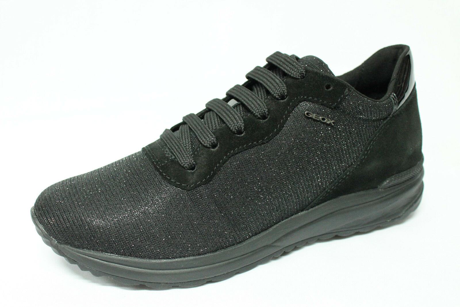 shoes Sneakers Geox D Airell B grey con glitter listino - 20%
