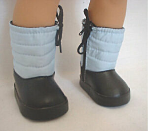 """New - Blue Snow Boots #WD1092 - fits 18"""" American Girl Dolls / Play Dolls"""