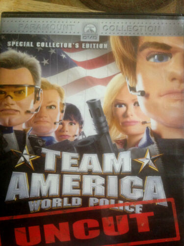 1 of 1 - Team America - World Police Uncut (DVD, 2007) *USED *
