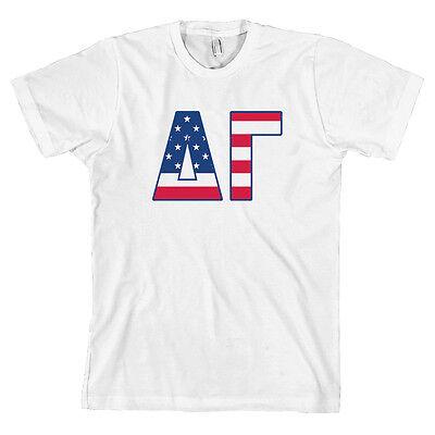Canvas T Shirt NEW Phi Delta Theta Fraternity Flag Bella