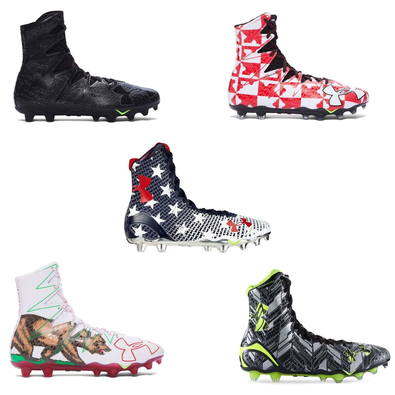 NEW Under Armour Men's UA Highlight MC LIMITED EDITION  Football Cleats Spikes