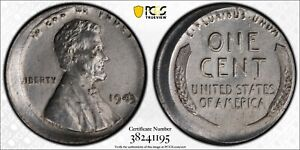 1943-1C-PCGS-5-Off-Center-Mint-Error-Cleaned-RicksCafeAmerican-com