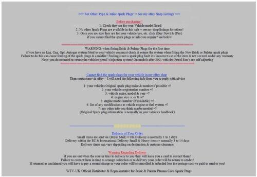 5x Ford Kuga 2.5i 2522cc 147 kW y2009-2018 = Pulstar Plasma Core Bujías