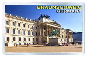 BRAUNSCHWEIG GERMANY FRIDGE MAGNET SOUVENIR IMAN NEVERA