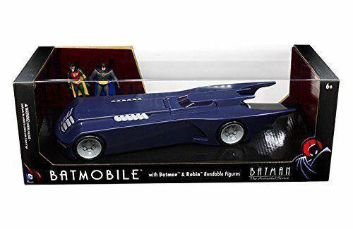 NJ CROCE DC 3933 njcroce 1:24 btas Batmobile W//Batman and Robin figures
