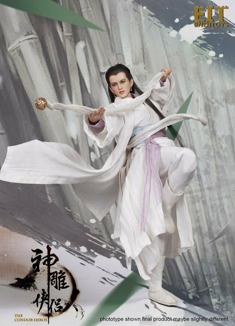 1 6 End I Toys Legend of Condor Hero Little Dragon Girl Figure Xiaolongnü Toy