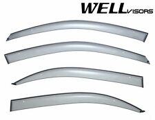 WellVisors Premium Series Side Window Visors Deflector For 02-05 Hyundai Sonata