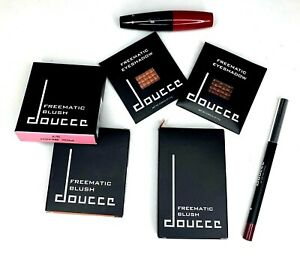 Doucce-Makeup-Lot-Of-7-Freematic-Blush-Eye-Shadow-Lip-Liner-Punk-Volume-Mazcara