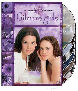 Brand-New-DVD-Gilmore-Girls-The-Complete-3-Season-Lauren-Graham-Alexis-Bledel