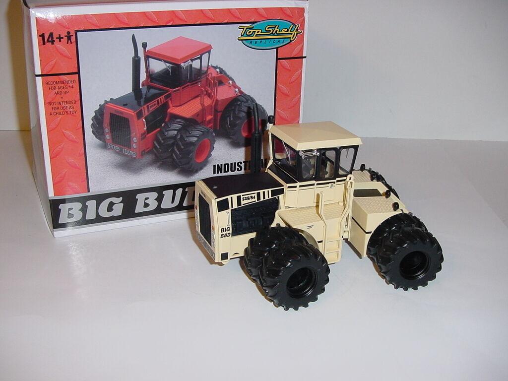 1 32 BIG BUD 525 84  Desert Camo Chase Unit  Tracteur avec DUALS New in Box  difficile à trouver