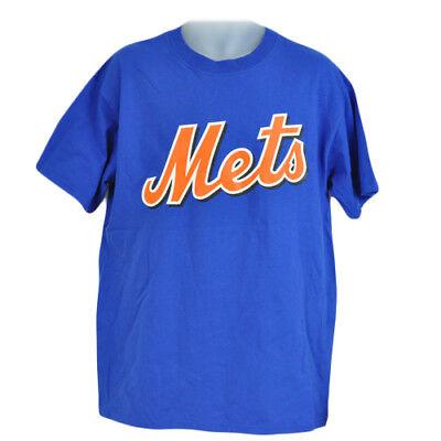 Fanartikel Sport Mlb Lizenziert New York Mets Johan Santana 57 T-shirt Blau Orange Baumwolle Xl In Den Spezifikationen VervollstäNdigen