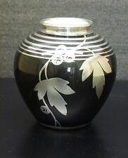 Silveroverlav Porzellan Vase Rosenthal Veyhl Art Deco porcelain