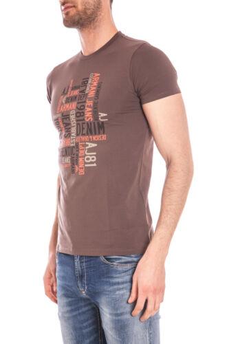 Shirt Maglietta C6h14da Uomo Jeans 57 T Armani Marrone Cotone Sweatshirt aqxddn7Zf