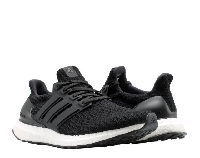 9f50dcdc9d0fa Adidas UltraBOOST Core Black Core Black Cloud White Men s Running Shoes  BB6166