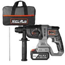 20v Max Sds Plus Cordless Rotary Hammer 22j Drill Drilling With Carrying Bag