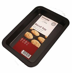 Non-Stick-Biscuit-Baking-Tray-Oven-Roasting-Carbon-Steel-Tin-Dish-Bakeware-Pan