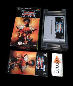 DEAD-DANCE-TUFF-E-NUFF-Super-Famicom-Nintendo-SNES-SFC-JAP-Jaleco