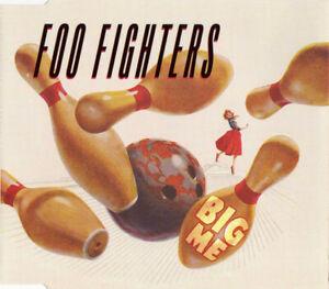Foo-Fighters-Maxi-CD-Big-Me-Europe-EX-EX