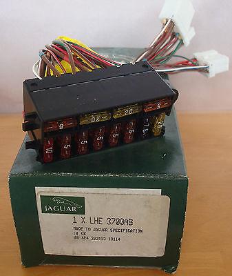 JAGUAR XJS 4.0 POWER CABLE /& FUSE BOX  LHE 3700AB NEW GENUINE