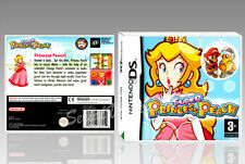 "BOITIER ""SUPER PRINCESS PEACH"", NINTENDO DS, ANGLAIS. SANS LE JEU. NO GAME."