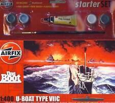 Airfix el bote u-boat Type VIIC 7 - 1:400 modelo-Kit + color adhesivo de pincel